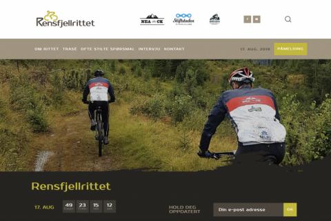 Rensfjellrittet.no Hjemmeside